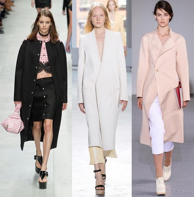 Модные пальто весна 2015 фото галерея
