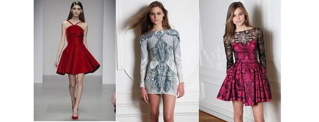 Платье на новый год пышные